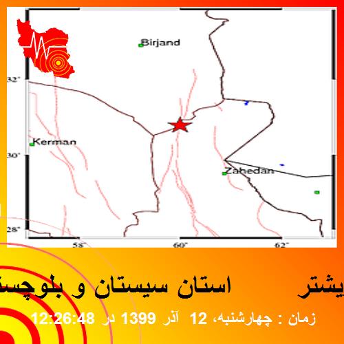 منطقه: استان سيستان و بلوچستان